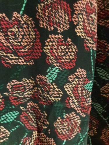 Gilet Small Lularoe lungo Roses Joy Beautiful Y86Yqwr