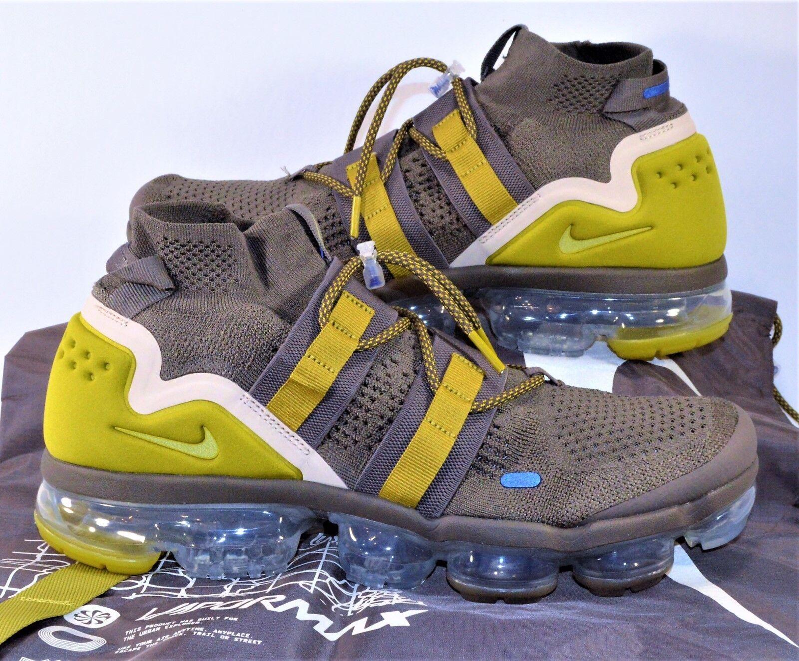 83b579f05483d Nike Vapormax FK Utility Flyknit Ridgerock Ridgerock Ridgerock Running Shoes  Sz 12 NEW AH6834 200 a284e9