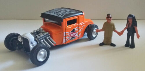 Kings Toys 1929 Ford Model A diecast car 1:32 scale w// Homies figures # 4