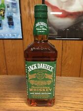 RARE JACK DANIELS 750ML EVO / NEW VERSION GREEN LABEL -NO FIRE / RYE / GOLD