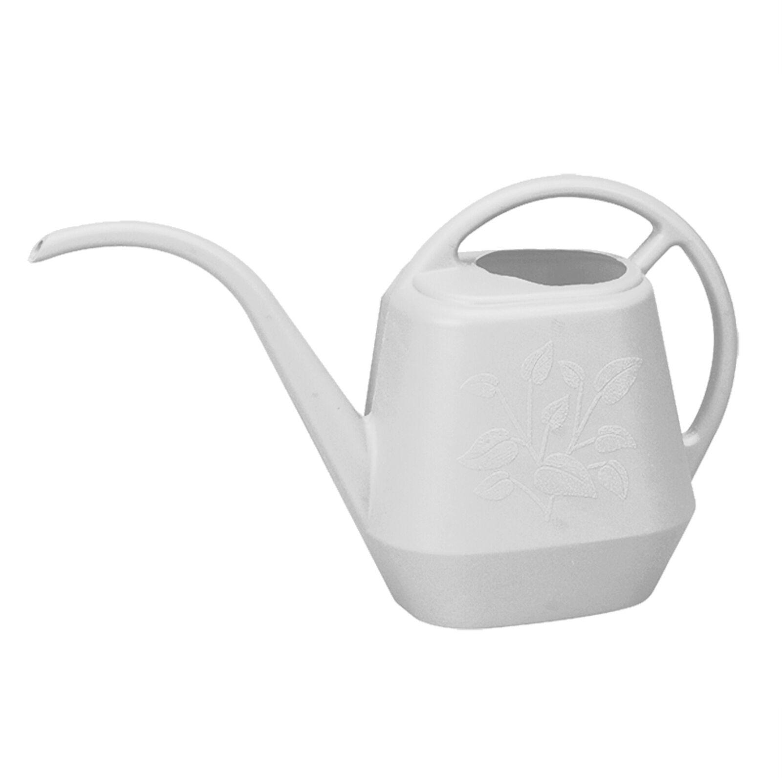 Bloem Watering Can Aqua Rite 1.2 Gal. (144 oz) Casper White