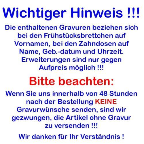 FRÜHSTÜCKSBRETTCHEN TRECKER HOLZ NAME 24x15 BROTZEIT JAUSE VESPER MIT GRAVUR
