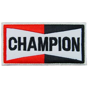 Details about CHAMPION Logo Embroidered Iron On Patch #PCP021