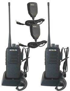 2-Pack-Retevis-H777-WalkieTalkie-UHF400-470MHz-2-Way-Radios-US-FREE-SHIP