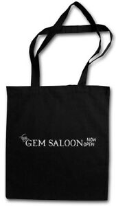 THE GEM SALOON STOFFTASCHE Deadwood Bar Western Al Seth Swearengen Hotel