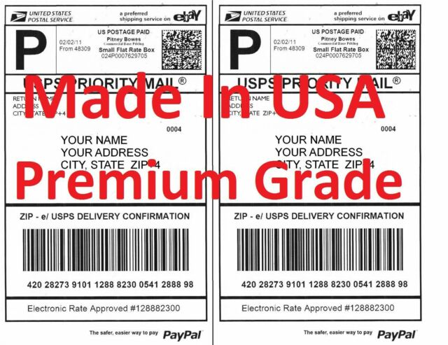 """Pro Office Self-Adhesive Premium 8.5/""""/"""" x 5.5/""""/"""" Labels for Inkjet and Laser Printer 200 Sheets for sale online"""