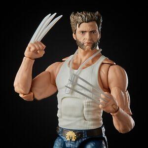 """Marvel Legends 6"""" SP X-Men Wolverine Movie Version Hugh Jackman White Tank Top"""