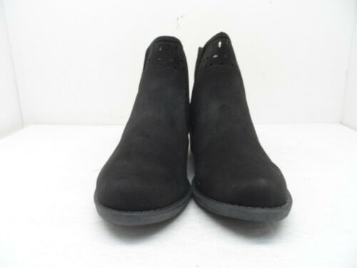 Details about  /Sugar Women/'s Calico Ankle Bootie Boot Black Fabric 10M