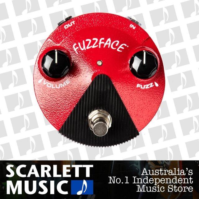 Jim Dunlop JFFM2 Fuzz Face Mini Germanium Fuzz Effects Pedal *BRAND NEW*