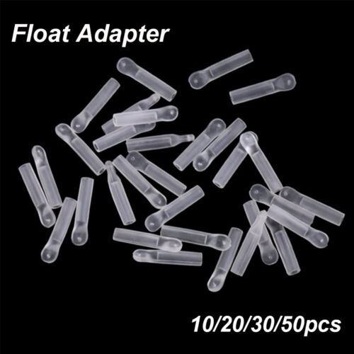 Silicone Transparent Hot Quick Change Fishing Float Adapters Match Floats 2mm