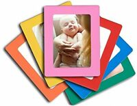 6 Pack Magnetic Picture Frame Refrigerator 4x6 Inch Photo Note Schedule Holder