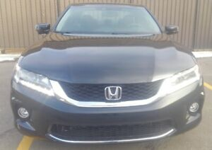 2015 HONDA ACCORD V6 COUPE -EX-L W/NAVIGATION - MINT CONDITION