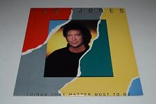 Tom Jones~Things That Matter Most To Me~1987 Mercury Records 830 409-1~FAST SHIP