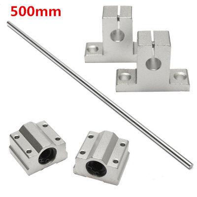 2 cuscinetti lineari SCS8UU 8mm Linear Motion Slide Bushing for CNC stampante 3d