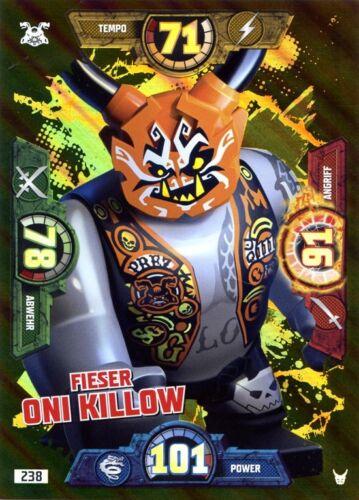 LEGO ® Ninjago ™ série 3 XXL Carte 238 de sale Oni killow limitatifs Carte