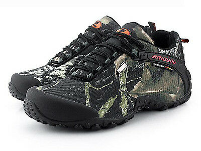 7454 New Men's Casual Outdoor Military Boots Breathable Waterproof Hiking Shoes