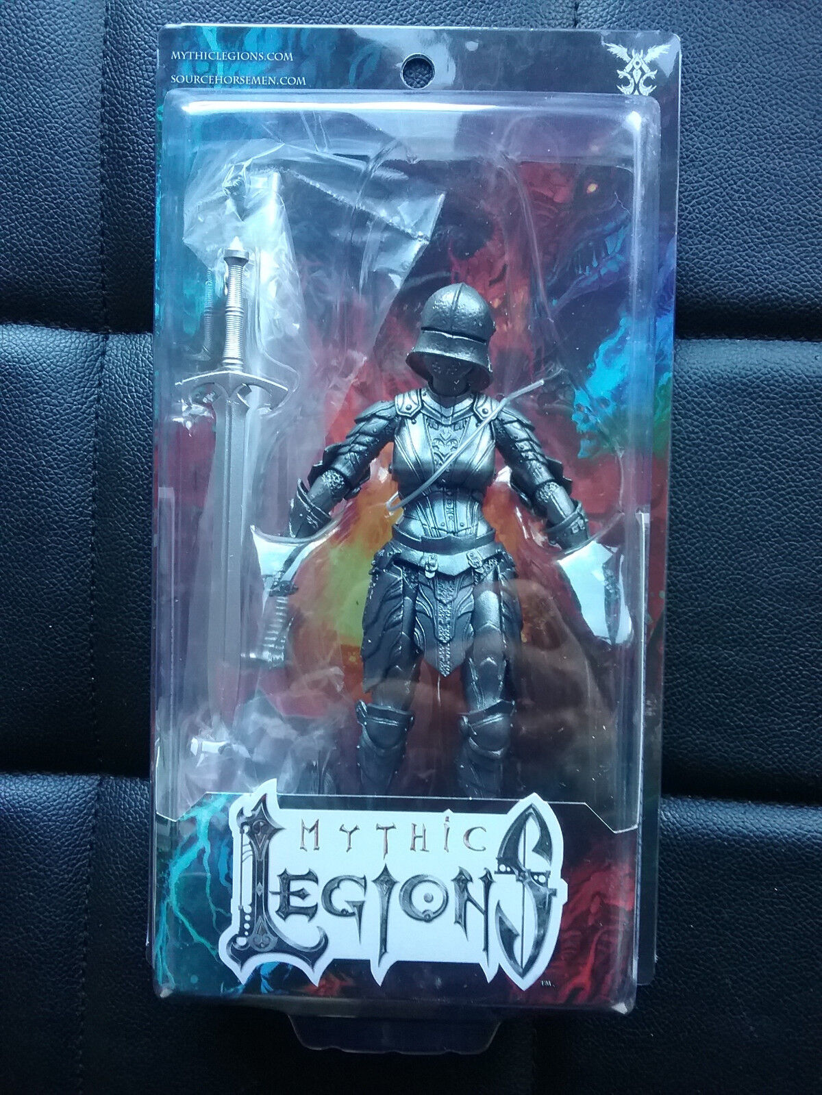 Mythic Legions Advent of Decay Female Iron Knight Legion Builder  NEW Horsemen