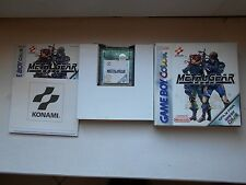 Jeu Nintendo Game Boy Gameboy Color Metal Gear Solid complet