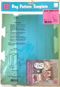 Image Is Loading C Thru Paper Folding Templates Lunch Bag BX