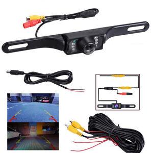 Waterproof-HD-Wide-Angle-License-Plate-Car-Rear-View-Backup-Camera-Night-Vision