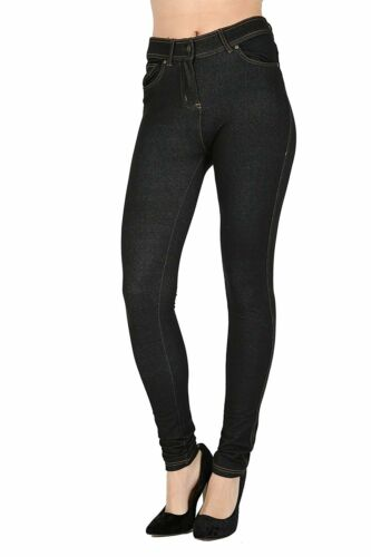 Skinny Womens Jeans Stretchy Jeggings Ladies New Fit Coloured Trousers 10-16 UK