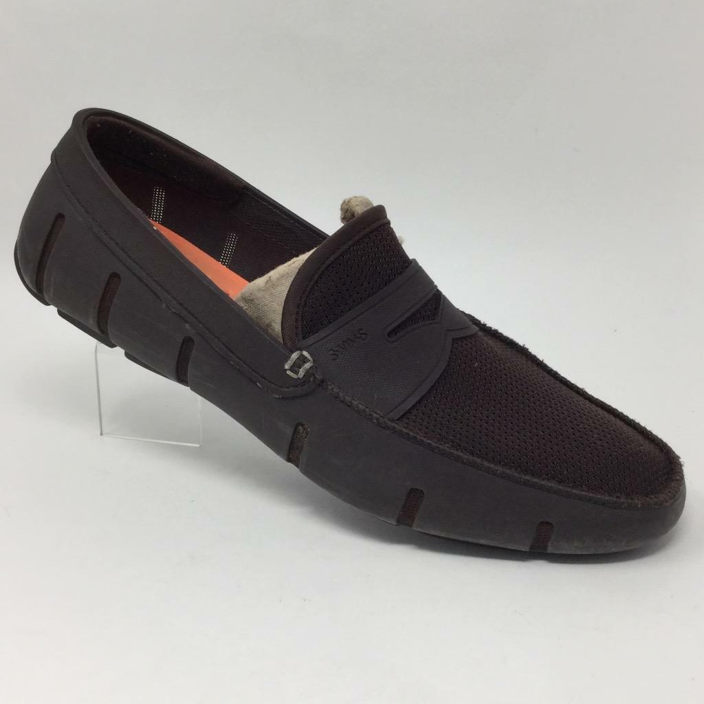Swims Penny Loafers Slip On Boat shoes 11 Brown