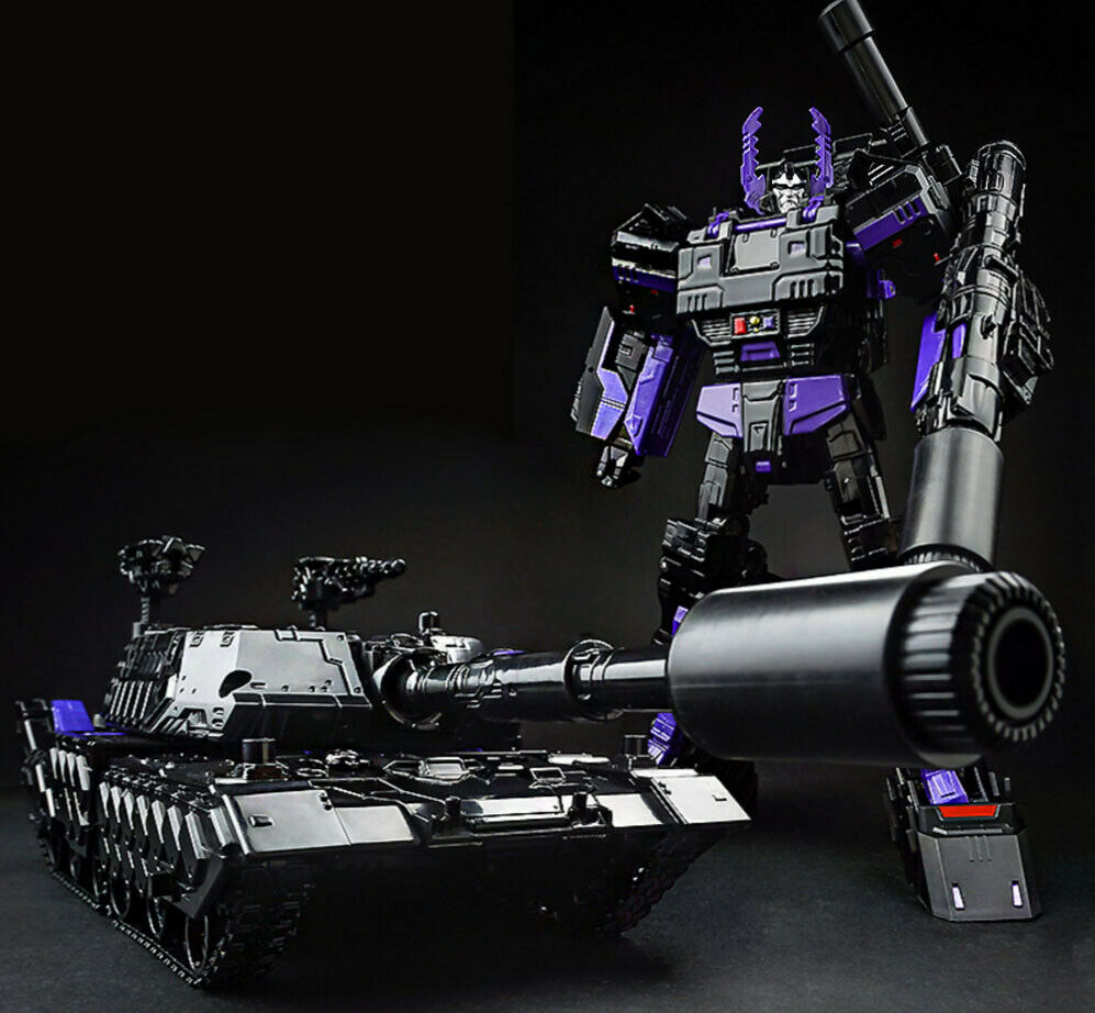Transformed Toy Diamond Cool Tank Dark LG13 Megatron TANK Leadership Model