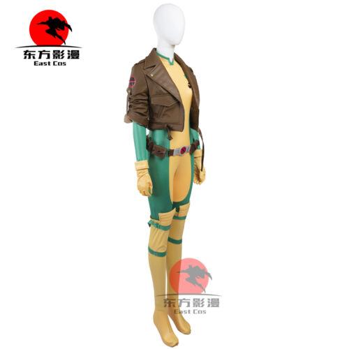 DFYM X-Men Rogue Cosplay Costume Jacket Jumpsuit Anime Custom Made Comics