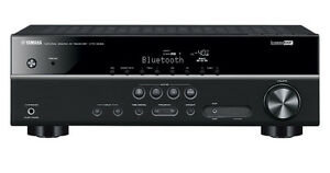 Yamaha HTR-3068 5.1 Channel AV Receiver with Bluetooth. 4 the BIG GAME! LTD QTY!