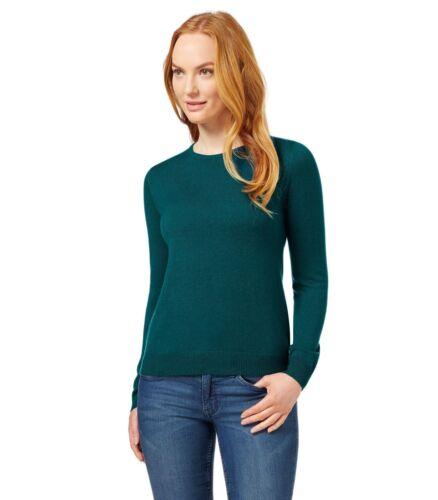 M/&S Cashmilon™ Ladies Long Sleeves Green Black Red Pink Jumper Sweater Top 6-24