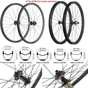 27-5ER-Carbon-Wheels-MTB-Wheelset-Tubeless-Mountain-Bike-Sram-Sram-XD-35mm-width