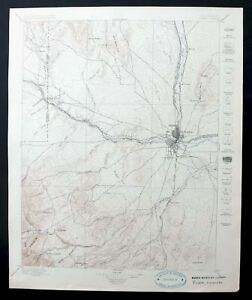 Details about Pueblo Colorado Antique 1897 USGS Topo Map 30-minute on