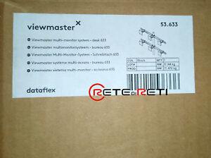 € 185+iva Dataflex Viewmaster 53.633 Supporto Multi-monitor 6xvesa Mis-d Nuovo Ucwa7vnn-07184700-575238845