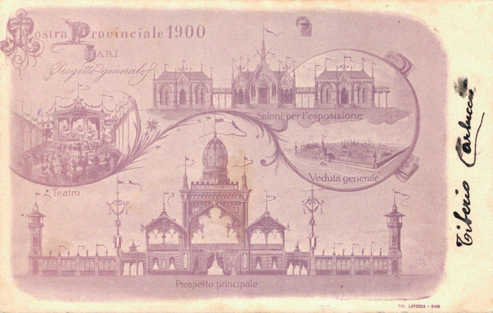 Italy Prospetto Principale 1900 Saloni per l'esposizione 04.29