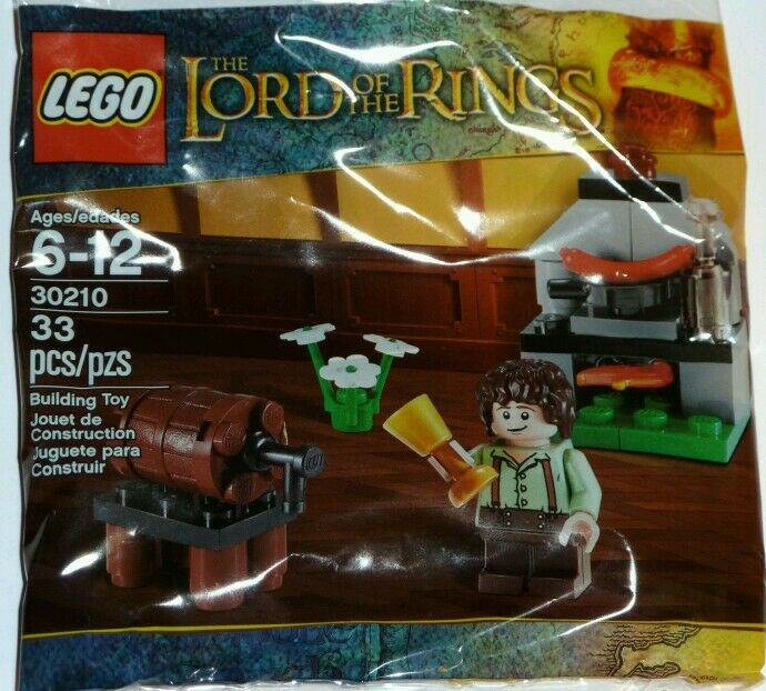60x LEGO Il Signore degli Anelli Set No.30210  FRODO con angolo cottura  - NUOVO SIGILLATO