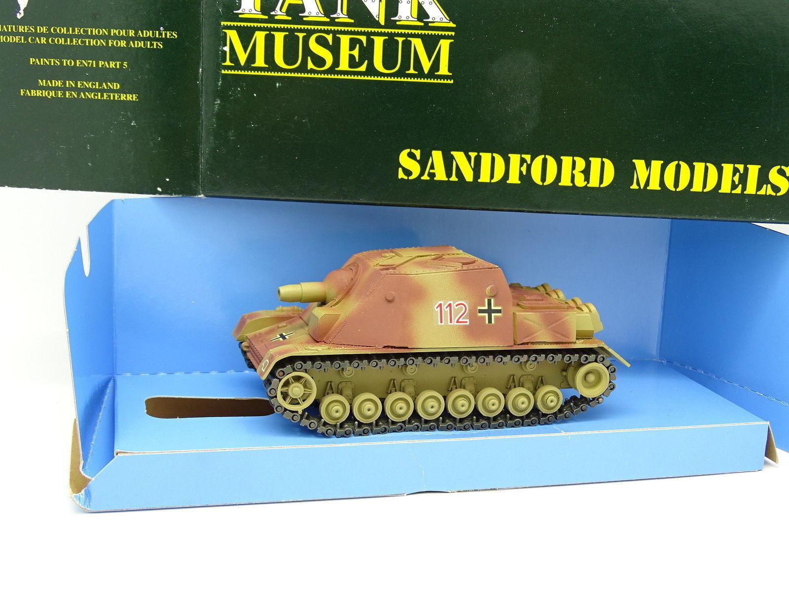 Verem Militaire Armée 1/50 Char Tank Sturmpanzer IV  Museum Museum Museum Sandford SM37 | Réduction  1e2c11