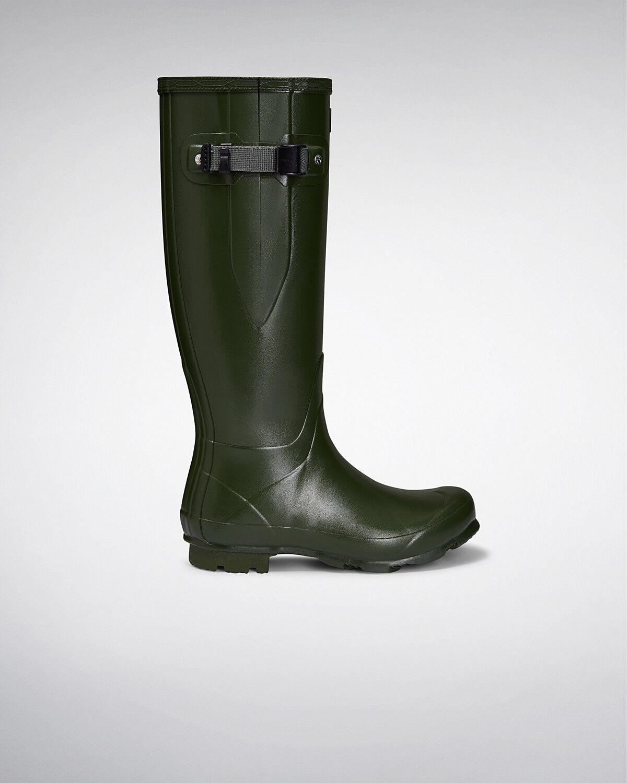 Genuine New Hunter Norris Field Women Adjustable Adjustable Adjustable Vintage Green Wellington Boots 44e0f8