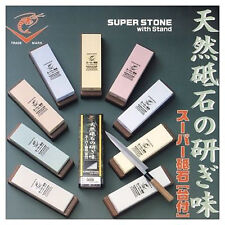 JAPANESE Naniwa Ebi super whetstones + stand all 18size
