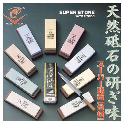 JAPANESE Naniwa Ebi super whetstones stand all 18size