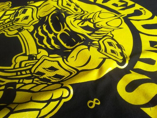 Ninja Collegejacke Gym tartarughe Soldati Weiss Shredder Schwarz piede xgq1I6w
