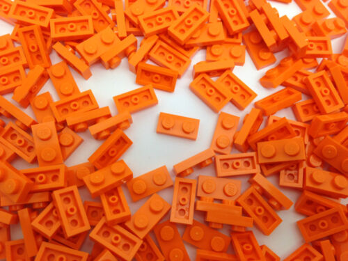 LEGO 3023 10,20 Or 50 Pieces ORANGE 1x2 Pin Plate