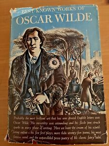 Best Known Works of Oscar Wilde HC/DJ 1940 The Picture of Dorian Gray Antique