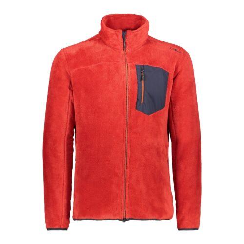 CMP Pinewood chaqueta Man jacket rojo transpirable fácil de cuidar