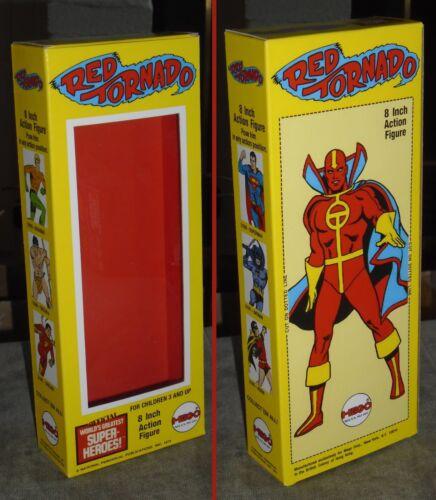 "MEGO 8/"" RED TORNADO CUSTOM BOX ONLY"
