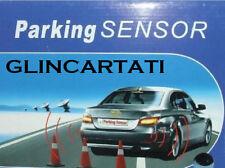 KIT 4 SENSORI SENSORE DI PARCHEGGIO AUTO CON DISPLAY LED CON CICALINO ACUSTICO