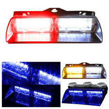 New Car 16 LED Red/Blue/Yellow Police Strobe Light Dash Emergency Flashing Light