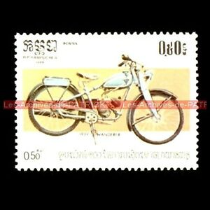 WANDERER-98-1939-KAMPUCHEA-Cambodge-Timbre-Poste-Collection-Moto-Stempel-Stamp