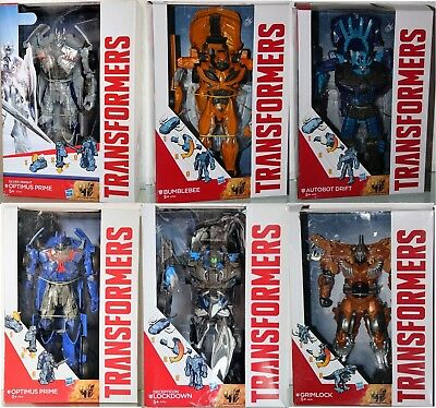 #27 B Transformers Movie 4-generations Age Of Extinction-figur- Hasbro Scegliere Costruzione Robusta