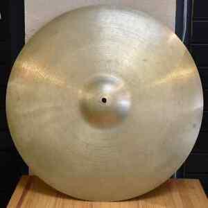 Vintage-1960s-Zildjian-22-034-Heavy-Ride-Cymbal-3308-Grams