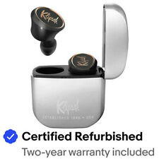 Klipsch K1067808 T5 True Wireless In-Ear Earphones, Black/Silver - Refurbished